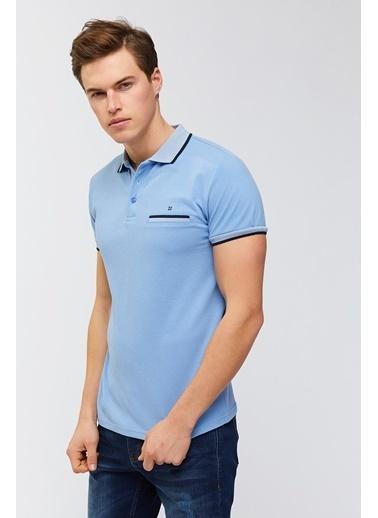 Avva Tişört Mavi